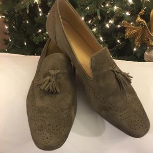 J. CREW Suede Loafers Size 10